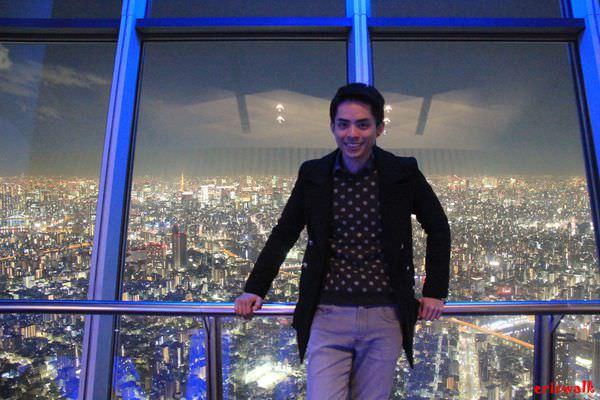 [東京] Tokyo Skytree 東京晴空塔 – 350M高空中之浪漫醉人東京夜景