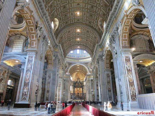 [義大利] 梵諦岡聖彼得大教堂Basilica di San Pietra – 大開眼界的世界第一大教堂
