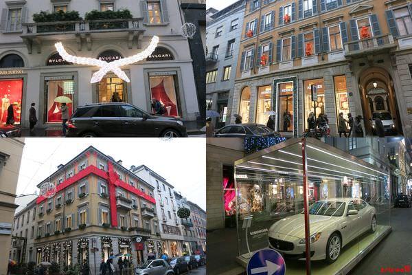 [義大利] 米蘭購物地圖:必訪名牌街Via Monte Napoleone,內含HERMES詢問記錄及米蘭大教堂週邊購物介紹