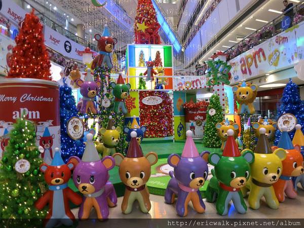 [2013香港] 聖誕特輯 – 觀塘aPm商場Santa Bear潮流聖誕城