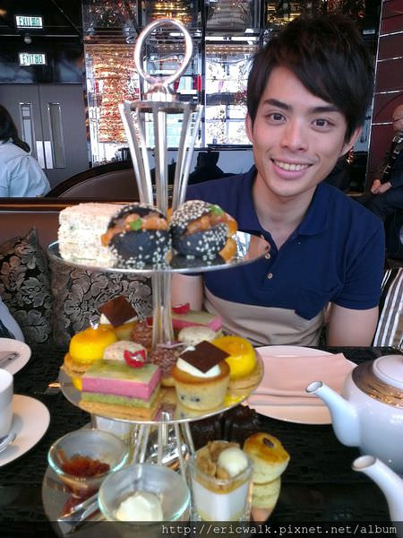 [2012秋-香港] Ritz-Carlton The Lounge&Bar – 世界最高飯店享用英式下午茶