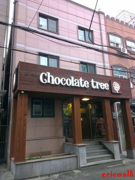 [首爾] Chocolate Tree 巧克力樹民宿 – 簡單迷你乾淨住宿介紹,地鐵新村站步行5分鐘、單人房50,000KRW